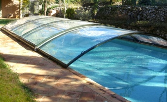 Cubierta de piscina All in One baja abrisud